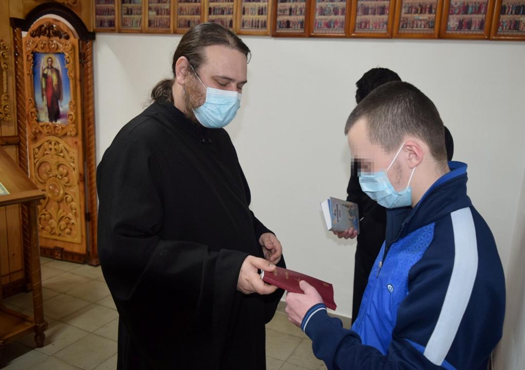 Священнослужитель рассказал осужденным о прощеном воскресенье