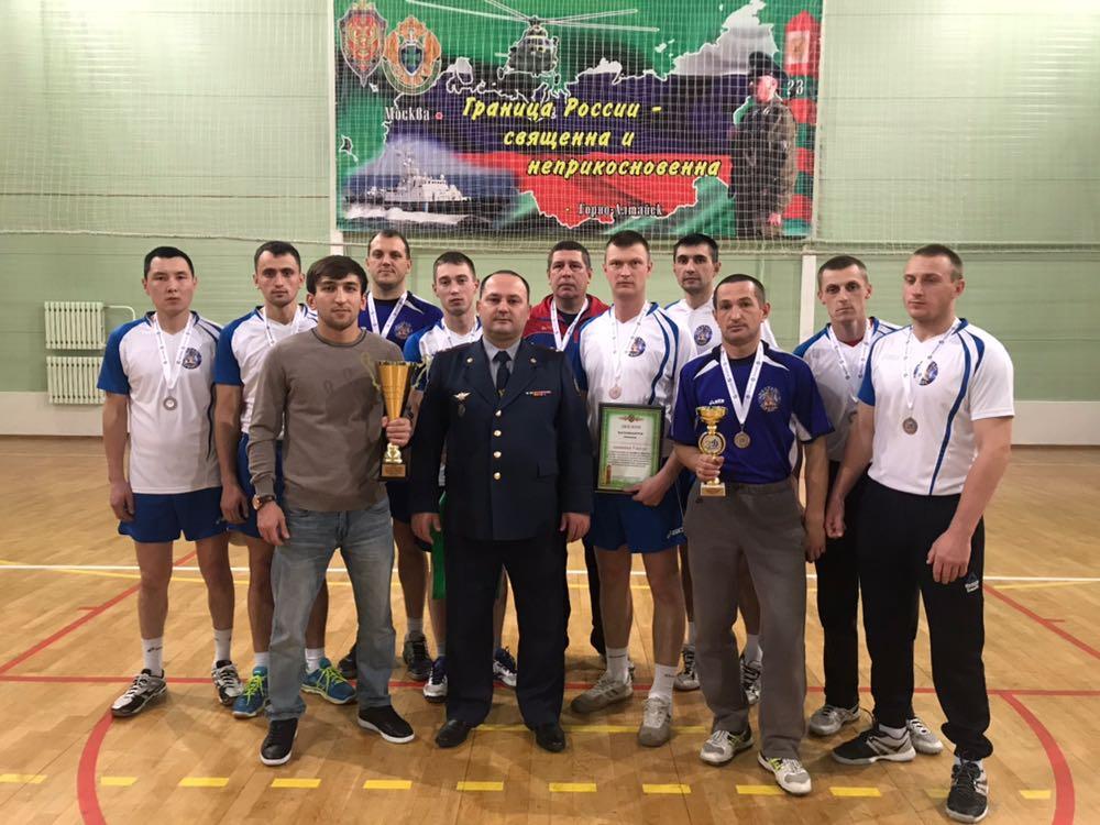 Команда УФСИН заняла третье место в соревнованиях по волейболу